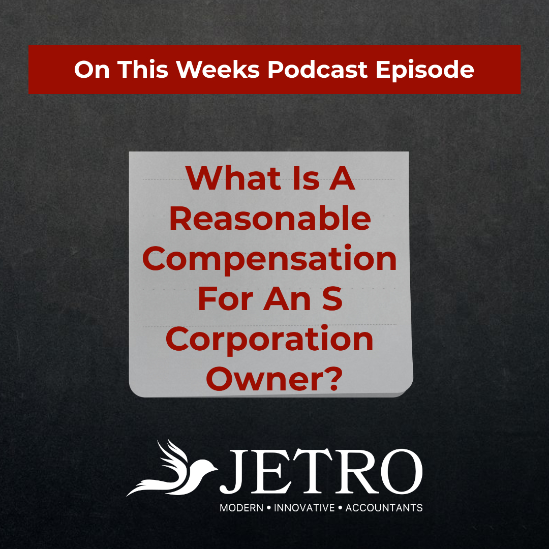 What Is A Reasonable Compensation For An S Corporation Owner?
