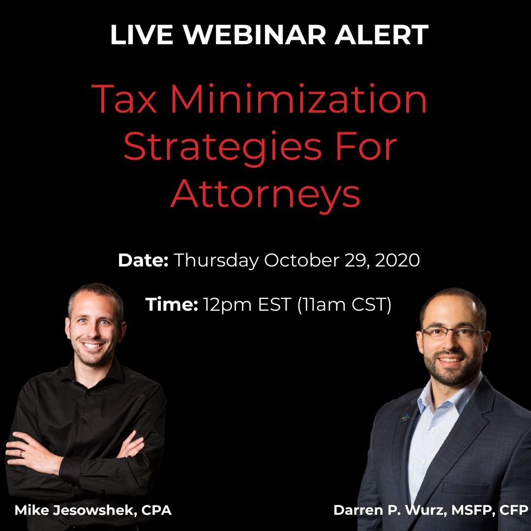 Tax Minimization Strategies For Attorneys