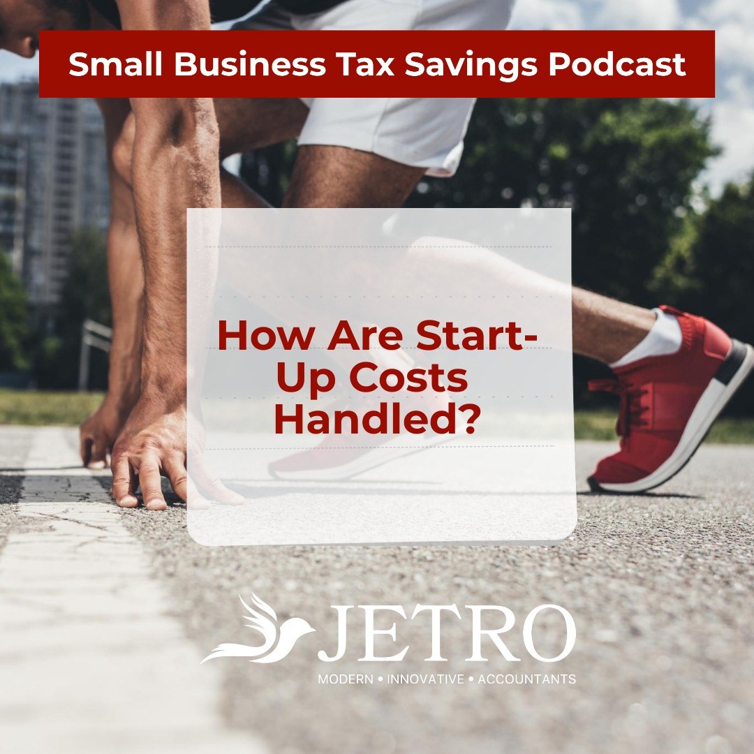 How Are Start-Up Costs Handled?