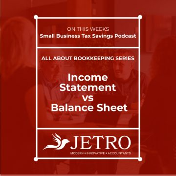 Income Statement vs Balance Sheet
