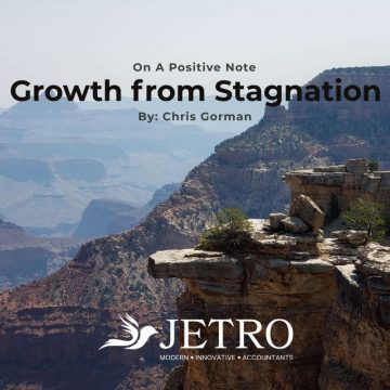 On A Positive Note- Growth from Stagnation